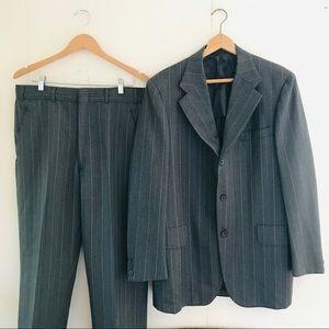 Vintage Southwick Pinstripe Two Piece Suit